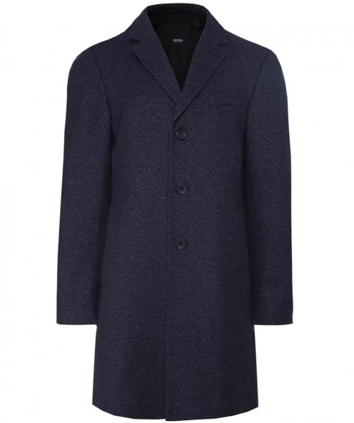 BOSS Wool Blend Nye1 Overcoat