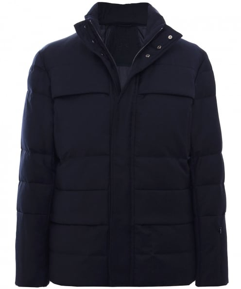 Corneliani Wool Padded Down Jacket