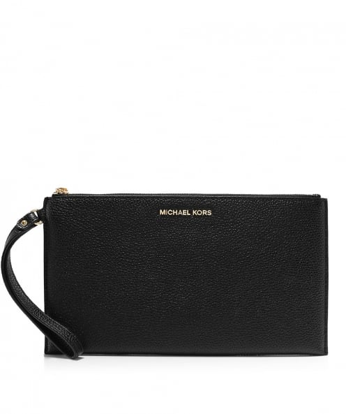 MICHAEL Michael Kors Pebbled Leather Mercer Wristlet