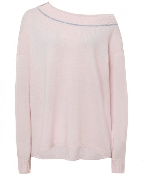 Duffy Piped Cashmere Jumper