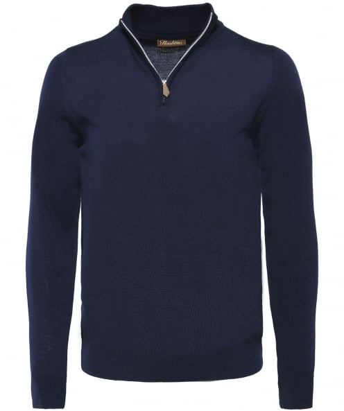 Stenstroms Merino Wool Half-Zip Jumper