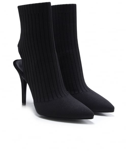 Kendall and Kylie Shoes Adrian Knitted Sock Boots