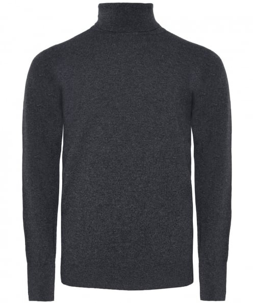 William Lockie Cashmere Oxton Roll Neck Jumper