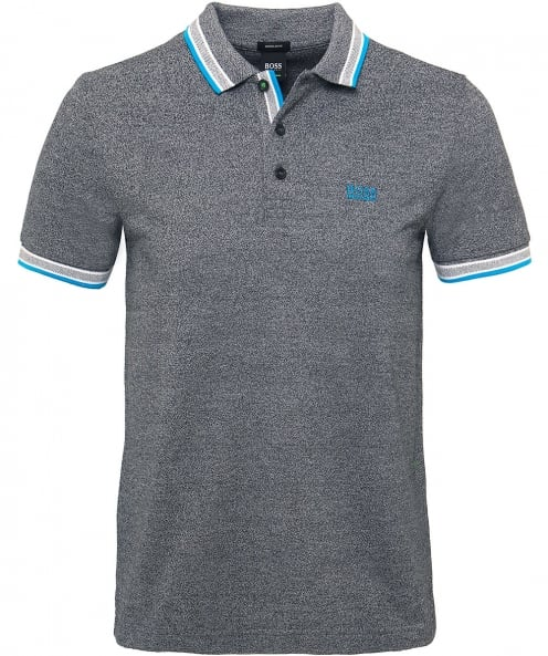 BOSS Knitted Cotton Paddy Polo Shirt