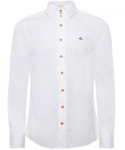 Vivienne Westwood Man Stretch Cotton Krall Shirt