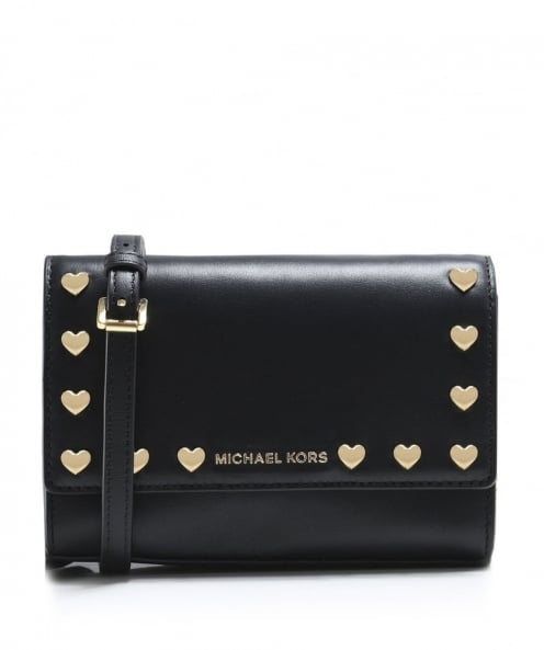 MICHAEL Michael Kors Polished Leather Clutch Bag
