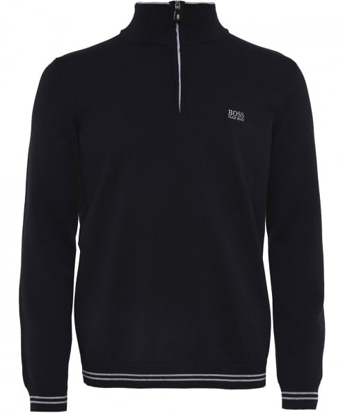 BOSS Half-Zip Zime _S18 Jumper