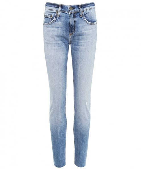 Rag and Bone Straight Leg Ankle Jeans