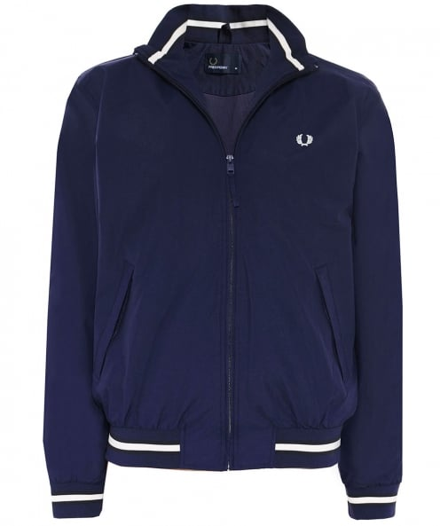 Fred Perry Ribbed Funnel Neck Brentham Jacket