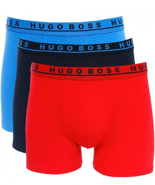 BOSS Three Pack of Boxer Briefs