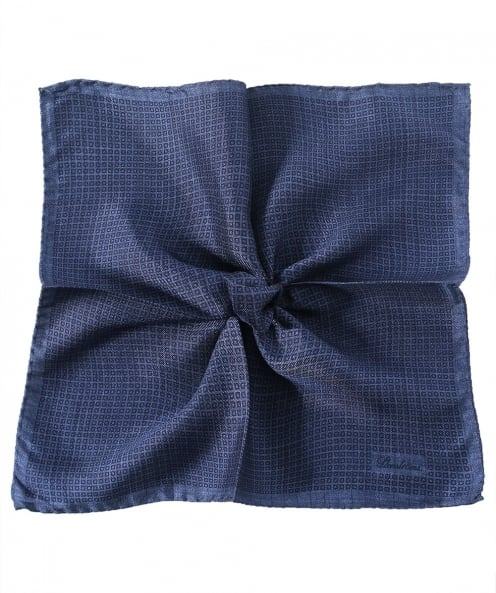 Stenstroms Silk Patterned Pocket Square