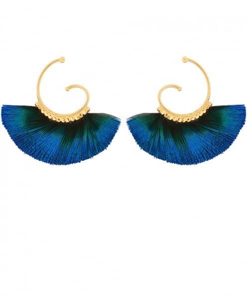 Gas Bijoux Buzios Small Feather Earrings
