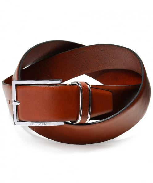 BOSS Leather Froppin Belt