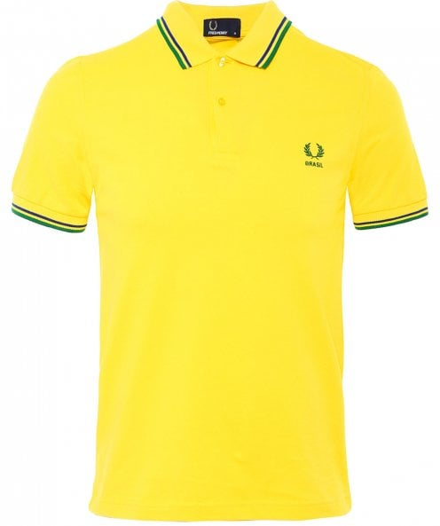 Fred Perry Twin Tipped Brazil Polo Shirt