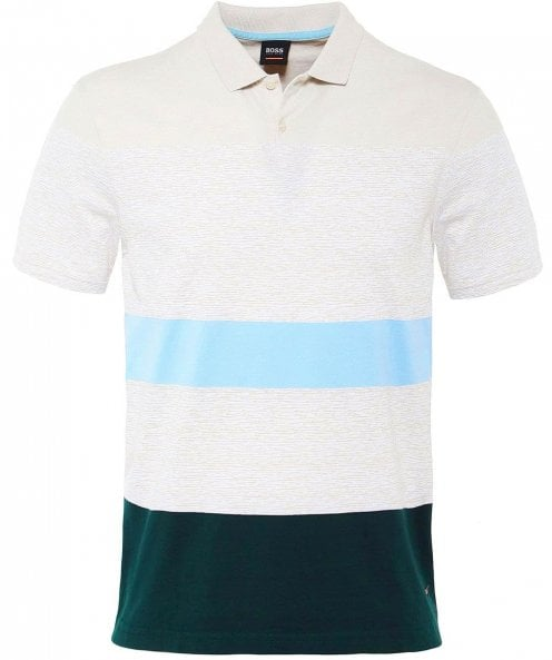 BOSS Mixed Stripe Payback Polo Shirt