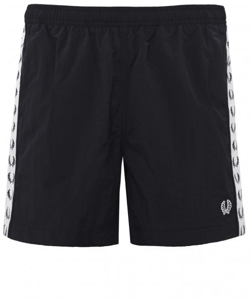 Fred Perry Taped Swim Shorts