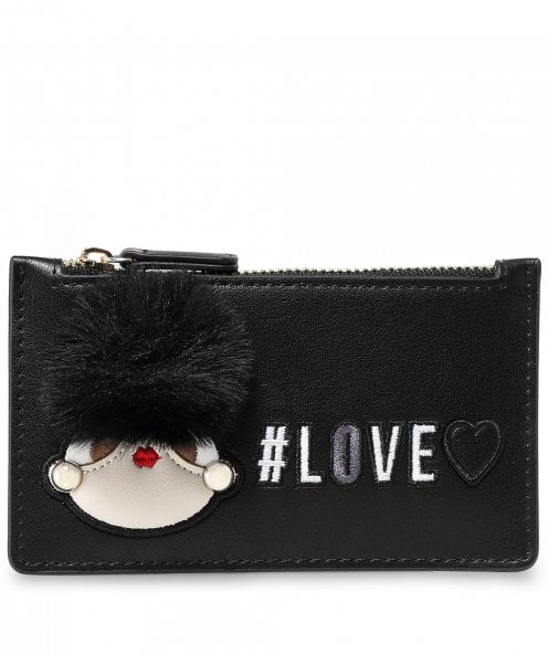 Moschino Love Moschino Fluffy Logo Wallet