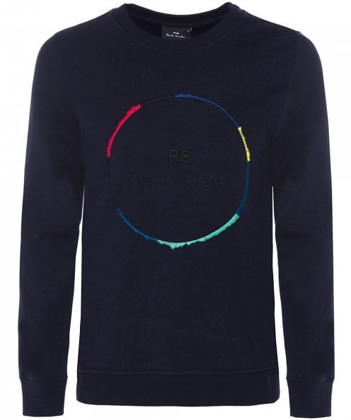 PS by Paul Smith Circle Embroidered Logo Jumper