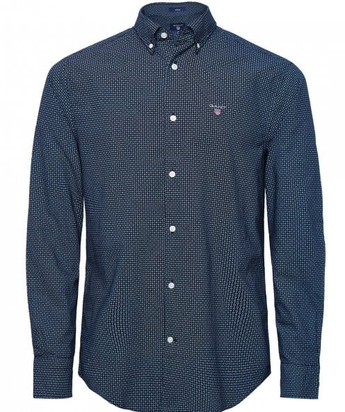 GANT Regular Fit Micro Circle Shirt