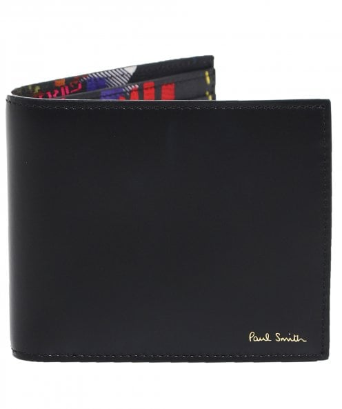 Paul Smith Leather Cycling Glove Billfold Wallet