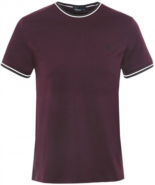 Fred Perry Crew Neck Twin Tipped T-Shirt