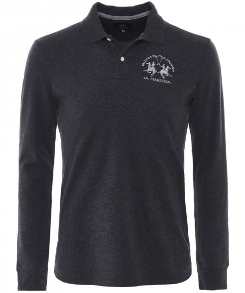 La Martina Long Sleeve Milo Polo Shirt