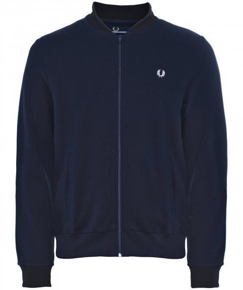 Fred Perry Pique Bomber Sweat Jacket