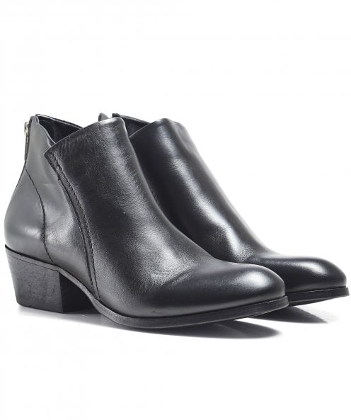 H by Hudson Apisi Leather Ankle Boots