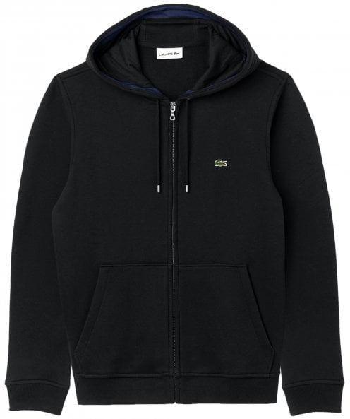Lacoste Zip-Through Logo Hoodie