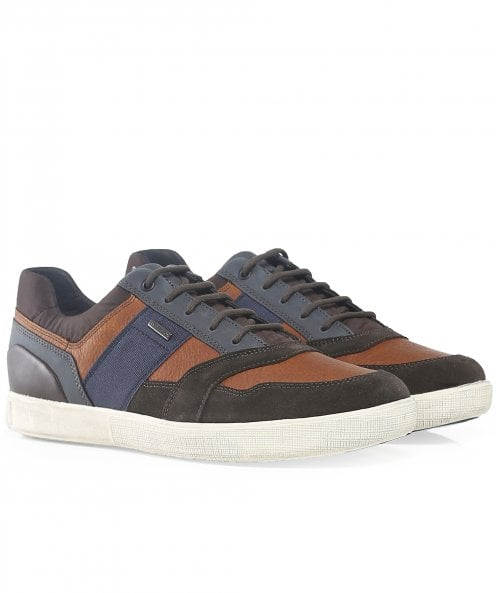 Geox Leather Taiki B abx Trainers