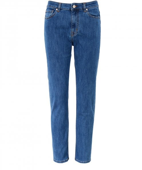 PS by Paul Smith Mid-Wash Girlfriend Jeans