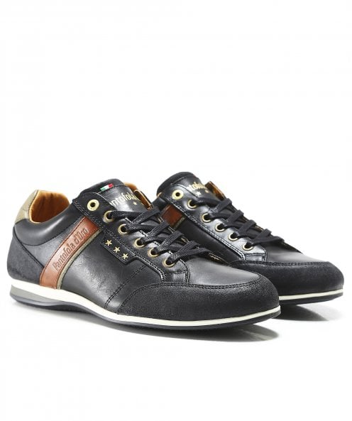 Pantofola d'Oro Leather Roma Trainers
