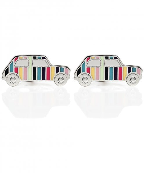 Paul Smith Artist Stripe Mini Car Cufflinks