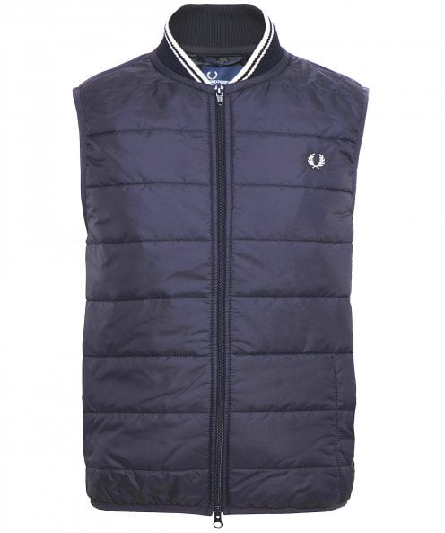 Fred Perry Quilted Lavenham Gilet