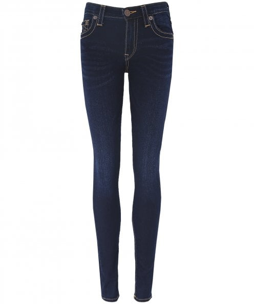 True Religion Halle High Rise Super Skinny Jeans