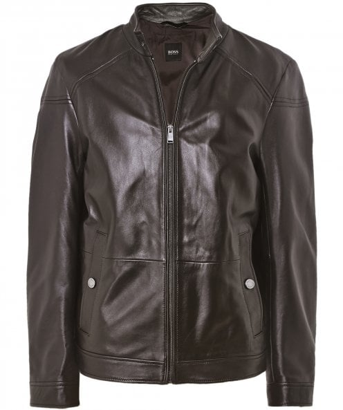 BOSS Leather Nocan Jacket