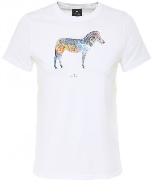 PS by Paul Smith Slim Fit Graffiti Zebra T-Shirt