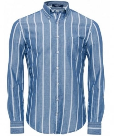 Linen Mini Rhombus Print Regular On Down Shirt Gant Men Online At Best Prices In India