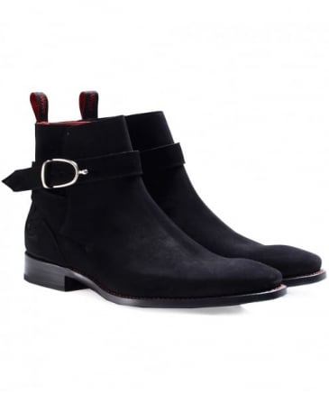 Suede Eternity Hunger Buckle Boots