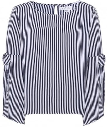 Adia Stripe Blouse