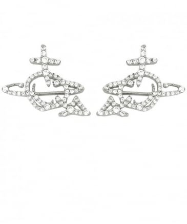 Orb Diamante Earrings