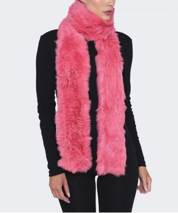 Long Fur Scarf