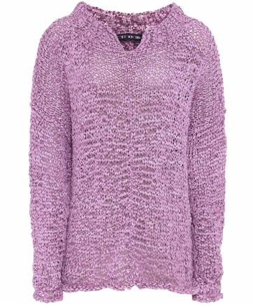 Heidi Textured V-Neck Jumper