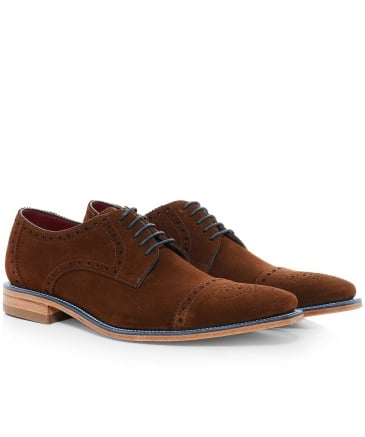 Suede Foley Derby Shoes
