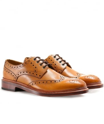 Leather Saunders Brogues
