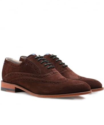 Suede Fellbeck Oxford Shoes
