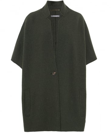 Wool Tabea Short Sleeve Jacket