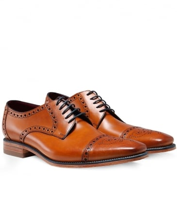 Leather Foley Derby Shoes