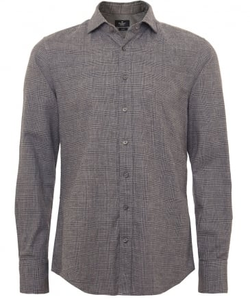 Slim Fit Prince of Wales Check Shirt