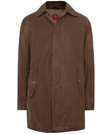 Waxed Cotton G10 Raincoat